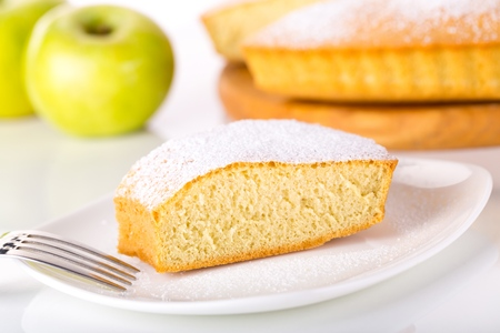 lemon slice: Cake. Stock Photo