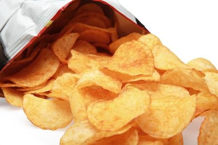 binge: Chip. Stock Photo