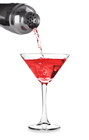 martini shaker: Martini. Stock Photo