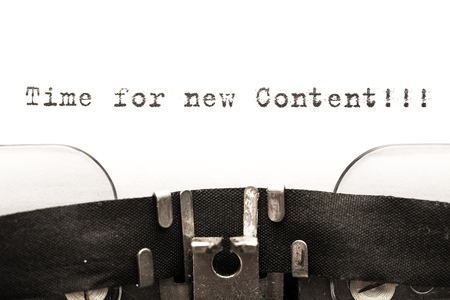 backlink: Content. Stock Photo