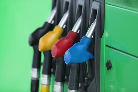 petrol pump: Gas Station.