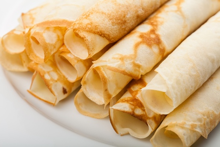 crepe: Crepe. Stock Photo