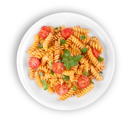 tomate: Pasta.