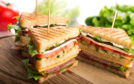 サンドイッチ。 写真素材 - 48740739
