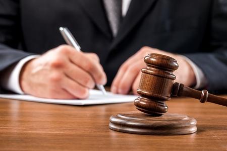 裁判官。 写真素材