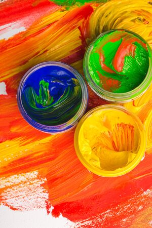 bright paintings: Paint.