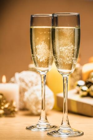 wine gift: Eve. Stock Photo