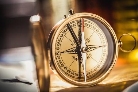 Kompas.  Stockfoto
