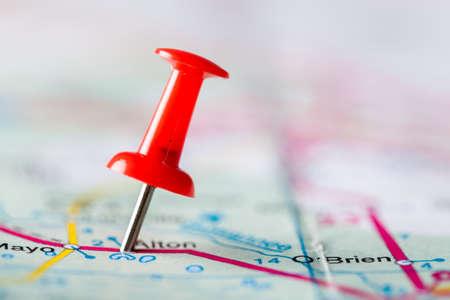 pinning: Map.