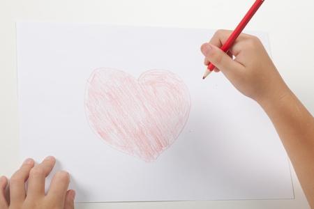 red pen: Child.