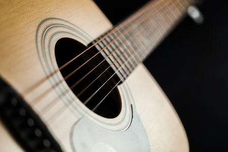 diminishing perspective: Acoustic Guitar.