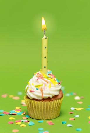kerze: Geburtstag.