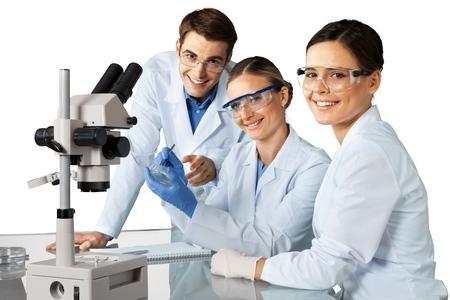 laboratory coat: Laboratory.