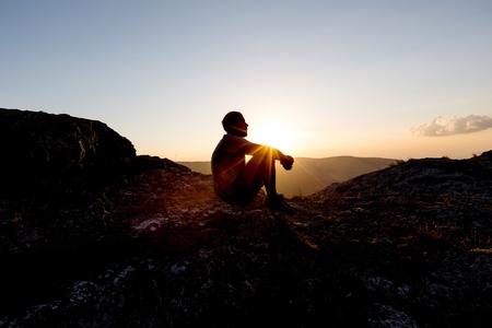 Praying. Standard-Bild