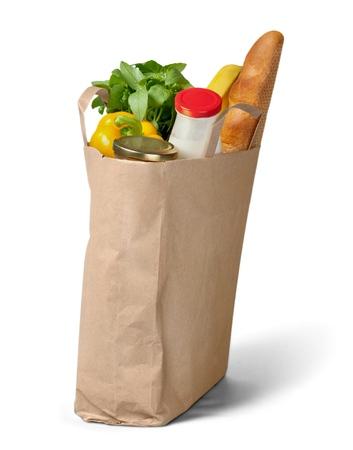 apple paper bag: Paper Bag.