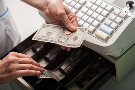 working class: Cash Register.