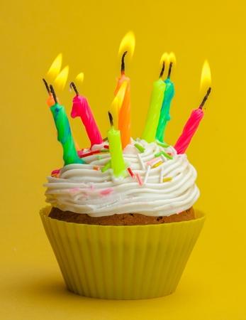 party pastries: Birthday Cake.