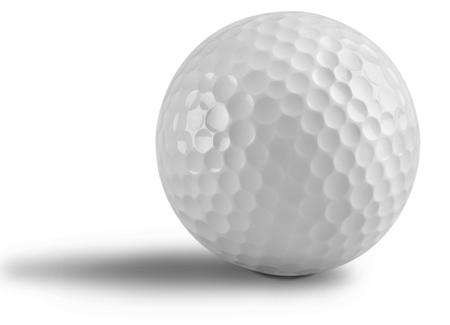 pelota: Pelota de golf.