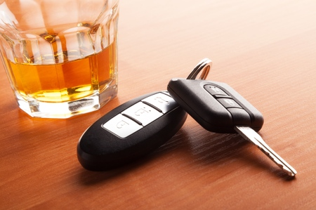 Drunk Driving. Banque d'images - 48793568
