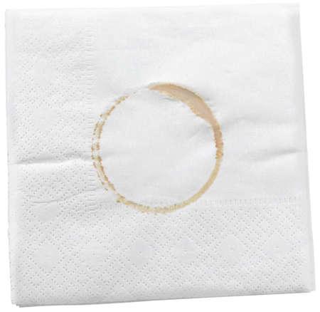 napkin ring: Napkin.