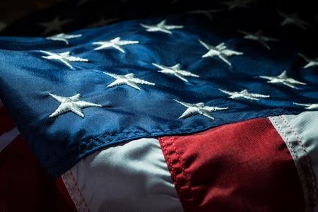 미국 국기. 스톡 콘텐츠 - 48762648