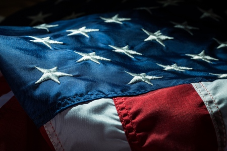 republican party: American Flag.