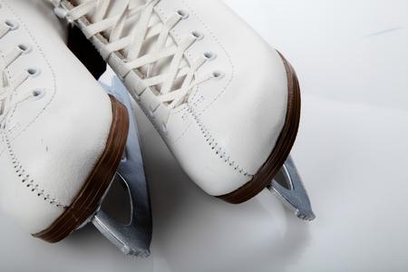 Eislaufen. Lizenzfreie Bilder