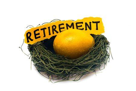 retirement nest egg: Retirement.