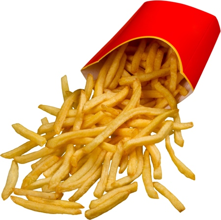 prepared food: French Fries.