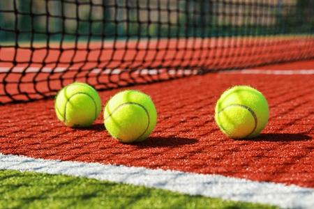 sports balls: Tennis. Stock Photo