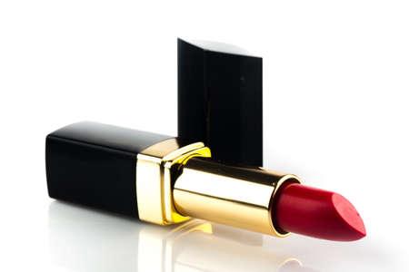 beauty products: Lipstick. Stock Photo