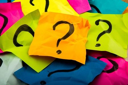 punto interrogativo: Punto interrogativo. Archivio Fotografico