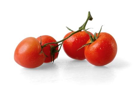 tomate cherry: Tomate.  Foto de archivo