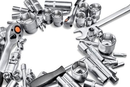 metallic: Metallic. Stock Photo