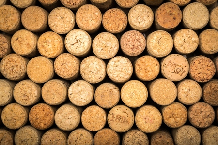 cork wood: Wine. Stock Photo