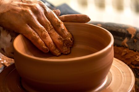clays: Pottery.