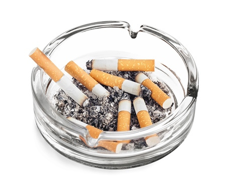 toxic substance: Cigarette. Stock Photo