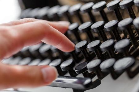 beat the clock: Typewriter.