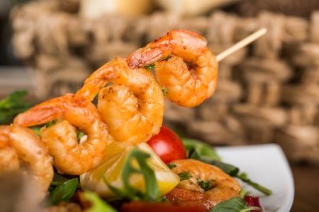 seafood dinner: Seafood.