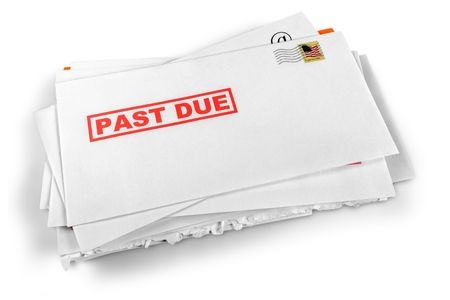 junk mail: Letter. Stock Photo