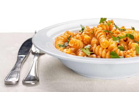 italienisches essen: Pasta.