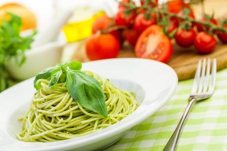 simple meal: Spaghetti.