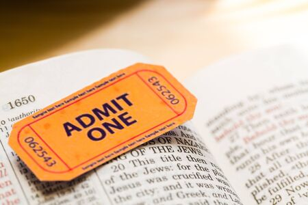 number 16: Bible. Stock Photo