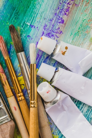 abstract paint: Artistic. Stock Photo
