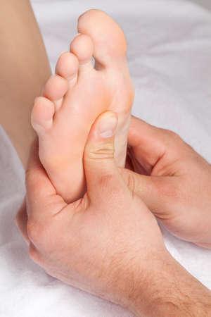 restore energy flow: Foot.