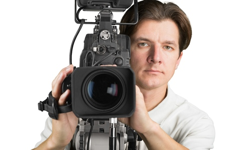 video camera: Video. Stock Photo