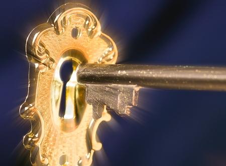 key: Key. Stock Photo