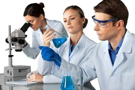 chemistry: Laboratory.