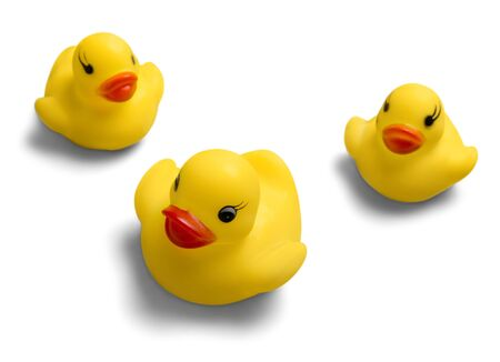 ducky: Rubber Duck. Stock Photo