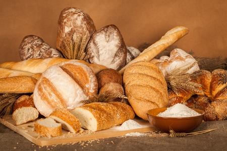 Bread. Stock Photo